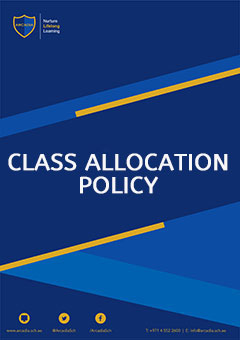 Class allocatioin Policy