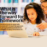 What is the way forward for homework?